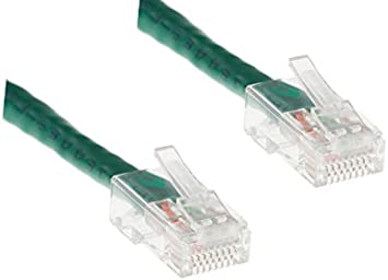 Pure Copper CAT5E Non-Booted Boot 5ft Yellow UTP Ethernet Cable PVC Jacket 100 Pack RJ45 Computer /& Networking Patch Cord cm CablesAndKits -