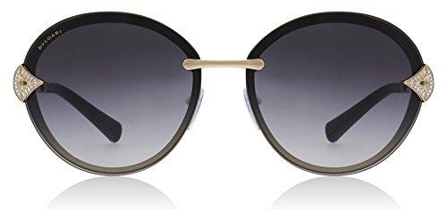 Bvlgari BV6101B 20148G Pink Gold BV6101B Oval Sunglasses Lens Category 3 Size ()