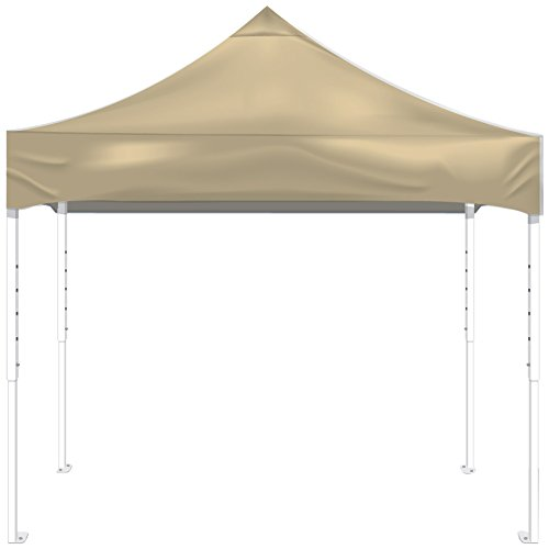 Hot KD Kanopy PF100C Party Shade Steel Frame 1-Piece Pop-Up Indoor/Outdoor Portable Canopy, 10 by 10-Feet, Cream