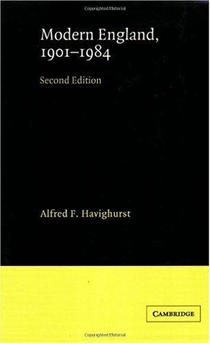 Download Modern England, 1901-1984:2nd (Second) edition pdf epub