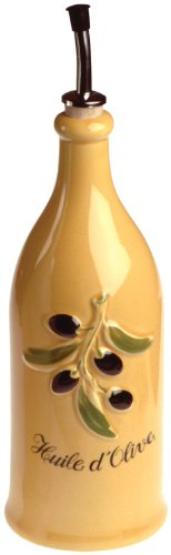 Revol Grands Classiques Collection, 9-Inch Provence Olive-Oil Bottle, London Yellow