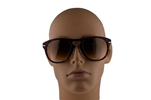 03b15bbffe9 Persol PO0714S Folding Sunglasses Havana w Brown Gradient Lens 54mm ...