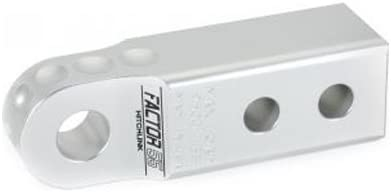 Factor 55 00020-05 HitchLink 2.0 Reciever Shackle Mount 2 Inch Receivers Silver