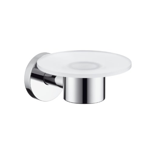 Hansgrohe 40515820 S and E Soap Dish, Brushed Nickel