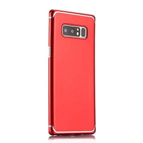 Funda para Samsung Galaxy S7Edge, Samsung G935F Carcasa, CLTPY Elegante y Delgada Cubierta de Plástico Duro con Patrón Blanco Simple para Samsung Galaxy S7Edge/G935F + 1 x Lápiz Gratis - Negro Rojo