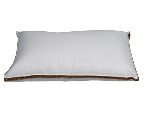 (Sleep Solutions Firm Luxury Down Alternative Pillow, Standard)