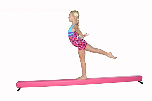 Balance Beam Pink 8 Foot Long 6.5 High