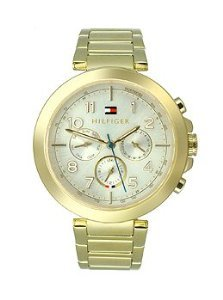 Tommy Hilfiger Multifunction Gold-Tone Stainless Steel Women's watch #1781450