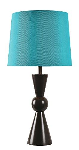 Kenroy Home Valetta Outdoor Table Lamp, Black -