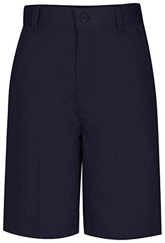 Classroom Uniforms Juniors Flat Front Bermuda Short, Dark Navy, 10