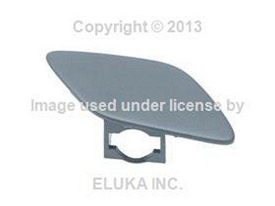 BMW Genuine Cover Flap - Headlight Washer on Bumper Cover (Primered) Right for 328i 328xi 335i 335xi 328i 335i