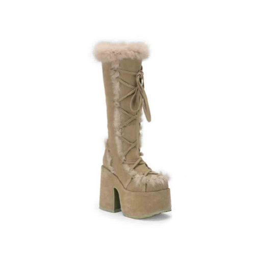 Demonia By Pleaser Women's Camel-311 Boot Camel Veggie Suede buy cheap collections O9UmJ