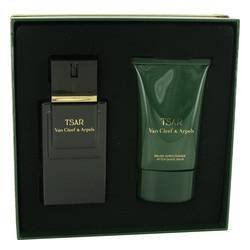 TSAR by Van Cleef & Arpels Gift Set -- 3.3 oz Eau De Toilette Spray + 3.3 oz After Shave Balm (Cleef Cinnamon De Van Toilette Eau)