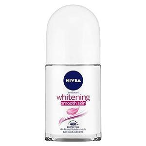 NIVEA Deodorant Roll-on, Whitening Smooth Skin, 50ml