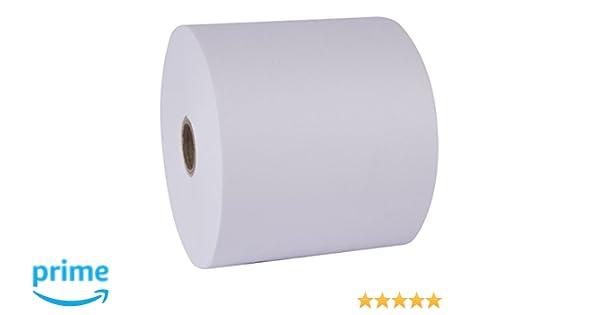 APLI 13323 - Pack de 10 rollos de papel térmico, 57 x 45 x 12 mm ...