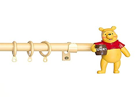 Bastone Tenda Winnie The Pooh.Bastone Per Tenda Disney Winnie The Pooh In Ferro Battuto