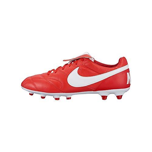 Blanco de II Fútbol FG Rojo Universitario Rojo The Botas Premier 616 Hombre Nike para 1qfB7f