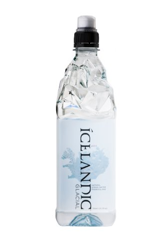 Icelandic Glacial Natural Spring Water, 750 Milliliter, 12 Count