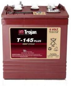 Batería Trojan para buggys, barredoras, apiladores T-145 // 6V 260Ah