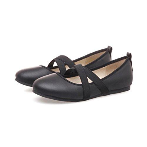 talons Shose Chaussures Femmes black With Buckle 48 XIE à Open de Taille Rough Sandales Strap Femme hauts T Romain Toe Code 32 4tdZqv