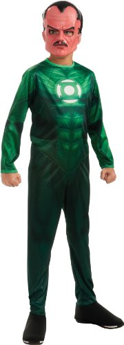Sinestro Child Mask (Green Lantern Child's Sinestro Costume - One Color - Large)