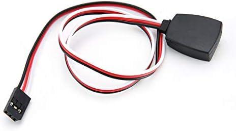 60コアPVC充電器温度検知RC部品温度プローブセンサーケーブルラインImax B5 B6 Lipoバッテリー充電器黒&赤