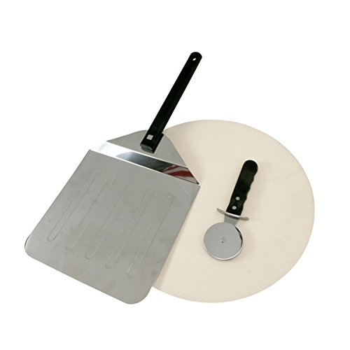 Mr. Bar B Q 15-inch Grill Stone 3-piece Pizza Set This Pizza Tools Set Is Designed To Work With Gas Grills And Indoor Ovens. by Unknown