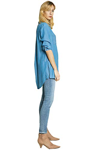 Fire Blue Co Aqua Used Jeans Donna zPUqanWdPx
