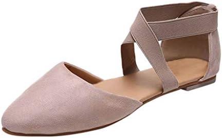 ボコダダ(Vocodada)サンダル 通勤靴 おしゃれ 流行 カジュアル 旅行 歩きやすい 便利 靴 美脚 彼女 女性 無地 痛くない 大学生 バレンタイン 人気INS 尖った ヒョウ柄 クロス ゴムバンド カジュアルシューズサンダル シングルシューズ