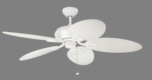 Bala PB52MWW5 Pelican Bay Outdoor Ceiling Fan, 52'', White Blades by Bala