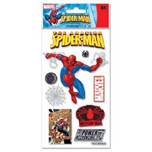Marvel 3-D Stickers-Spiderman