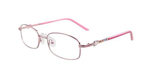 De Ding Children's Metal Optical Glasses Frame (pink)