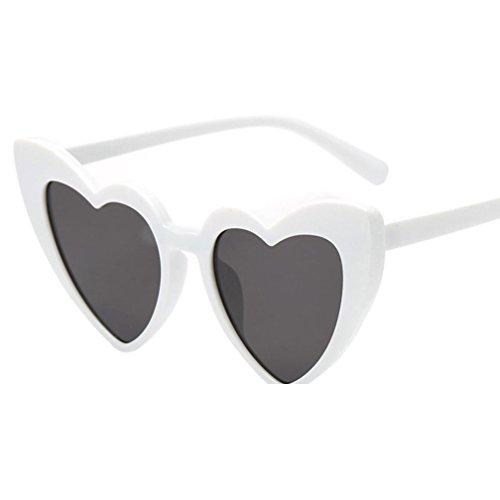 A Las Happy Gafas day de Gafas EN Fiesta Sol Aviador Gafas Corazón Sol La Gafas de Mujeres Las de retras Forma Moda de de de sombreadas 6x6qrdt4w