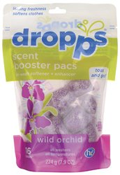 dropps-he-scent-laundry-booster-pack-with-in-wash-softener-and-enhancer-loads-wild-orchid-16-count