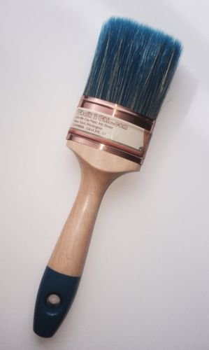 #PRO60 - XL - 60mm CHALK PAINT professional SHABBY CHIC OVAL BRUSH designed for waterbased and chalk paints by Chalk2Chic (Chic Shabby Paint)