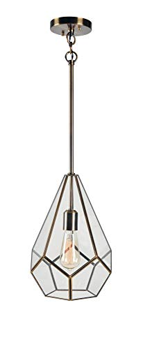 Kenroy Home 93891BAM Gemma Pendant Light, - Jewel Pendant Light