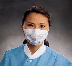 Kimberly-Clark Tecnol Teddy Bear Procedure Mask with Earloops Item 47295 - 500/case