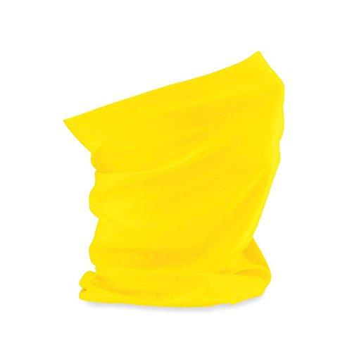 B900 - Morf Original - Schlauchschal - Stirnband - Armband - Bandana in 21 Farben (Yellow) Yellow