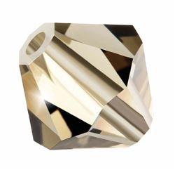 (Preciosa Bicone Crystal Beads 12 ,mm (Honey) 24 pcs)
