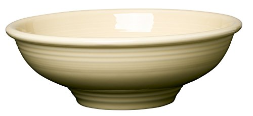 Fruit Bowl Ivory (Fiesta 64-Ounce Pedestal Bowl, Ivory)