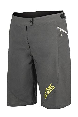 - Alpinestars Stella Pathfinder Shorts, Dark Shadow Acid Yellow, 32