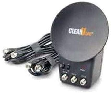 Antena ClearVue® – améliore de 50% las señales de recepción UHF, VHF y radio – Conexión como una toma eléctrica