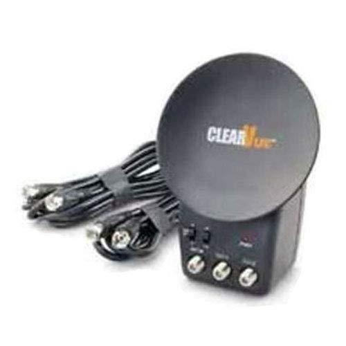 Antenne CLEARVUE ® - Améliore de 50 % les signaux de réception UHF, VHF et radio - Branchement comme une prise électrique VHF et radio - Branchement comme une prise électrique CLEARVUE ®