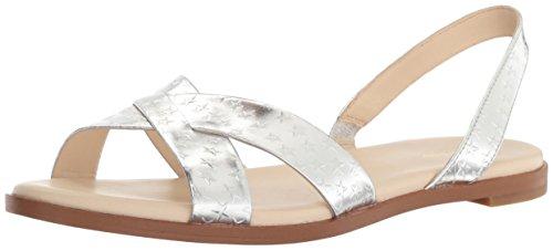 Sandalo Anica Da Donna Cole Haan Argento / Stampa Stella Metallizzata