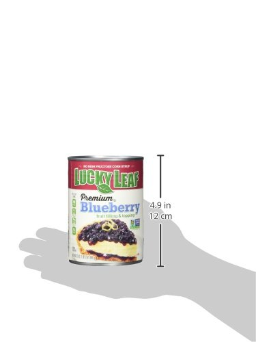 Lucky Leaf Premium Blueberry Fruit Filling & Topping, 21 Ounce (Pack of 8) by Lucky Leaf (Image #6)