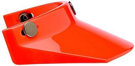 Pare-Soleil pour Moto BILTWELL visi/ère Orange pour Casques avec 3 Boutons BILTWELL DMD Bandit Yam AFX TORX GZM