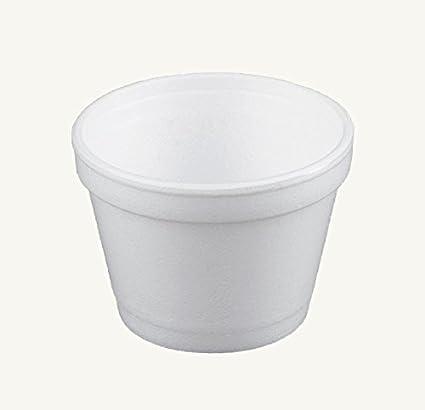 Amazoncom Dart 4j6 4 Ounce Customizable White Foam Cold And Hot