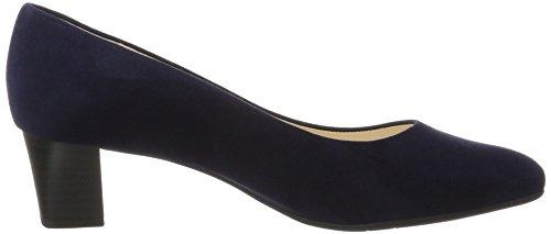 Donna 104 Suede Scarpe 51901 Blu chiusa Peter punta col Notte Kaiser tacco Pnp4xp