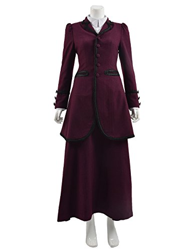 Cosdaddy Doctor The Who Missy Dress Costume (S, Full Set)