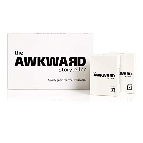 The Awkward Storyteller, Ultimate Storyteller Package (Base Game + Episode 1 + Episode 2), for 4-11 Players, Ages 16+